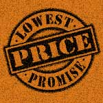 lowest price promise graphic