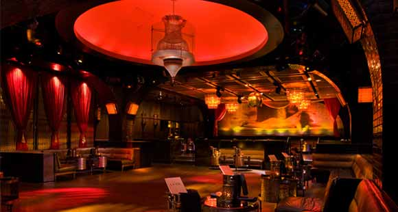 Inside LAVO Nightclub in Las Vegas