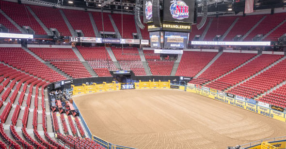 Thomas & Mack Center in Las Vegas
