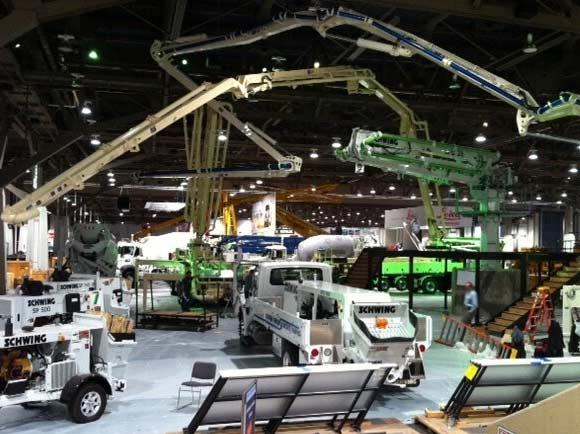 2019 World Of Concrete Expo In Las Vegas