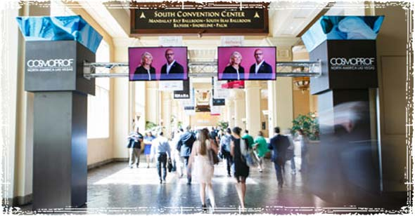 Cosmoprof Tradeshow in Las Vegas