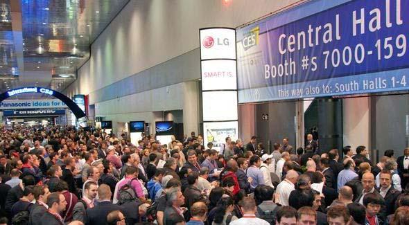 CES Tradeshow Floor