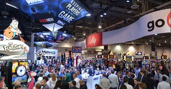 G2E Tradeshow Floor
