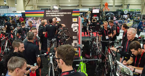 Interbike Tradeshow Floor