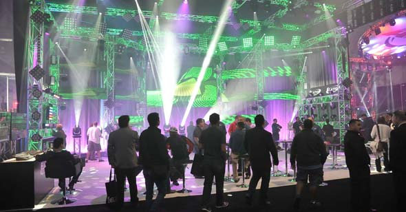 Live Design International Event in LAs Vegas