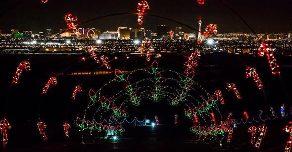 Las Vegas Speedway Christmas Lights