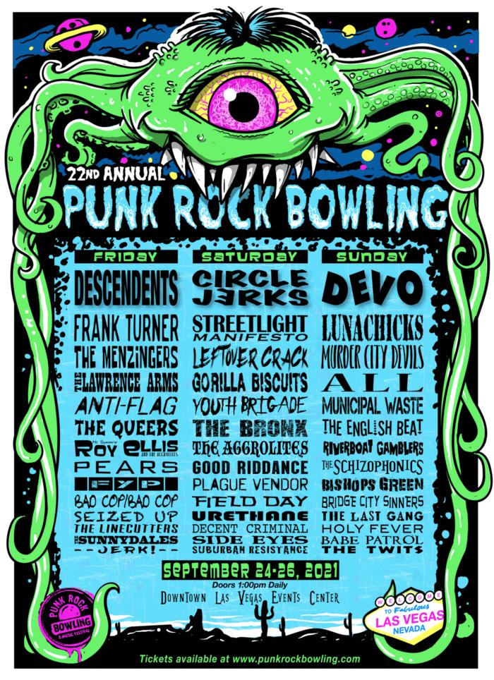Punk Rock Bowling Band lineup