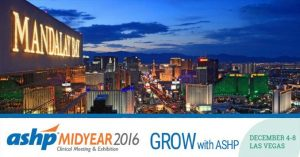 ASHP 2016 in Las Vegas
