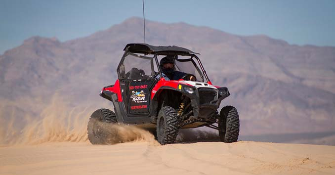 ATV tour in Las Vegas