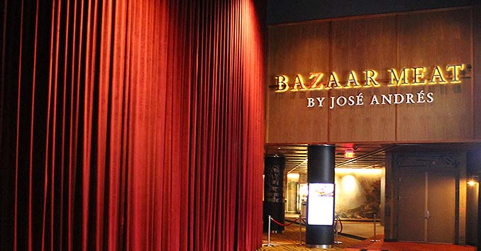 Bazzar Meats at the SLS