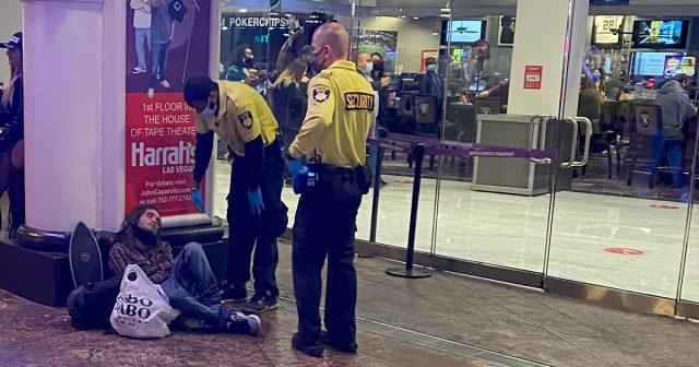 Overdose at Harrah's Las Vegas