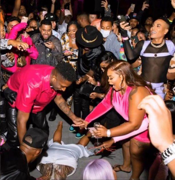 Cardi B Vegas Party