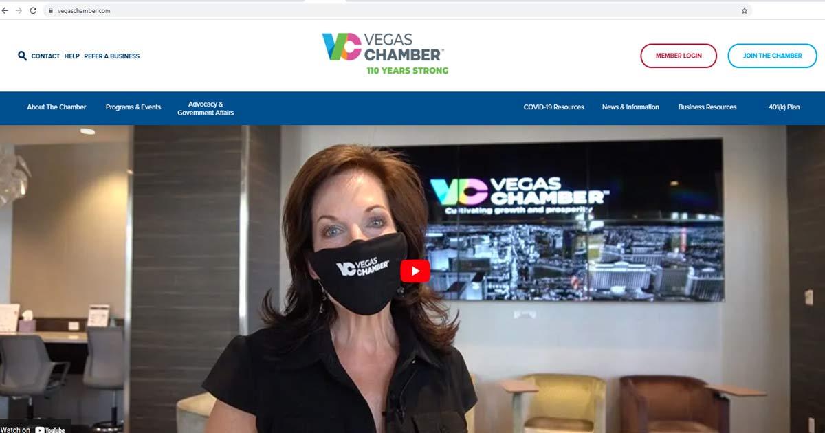 Las Vegas Chamber website