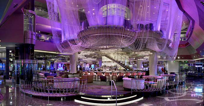 Chandelier Lounge at the Cosmopolitan