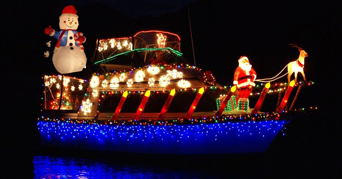 Lake Mead Christmas Boat Parade