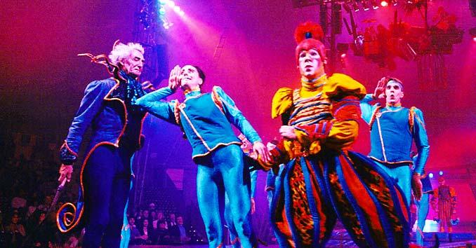 Cirque du Soleil Show in Vegas