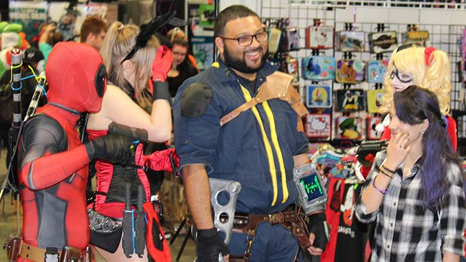 Comic Fans at Wizard World in Las Vegas