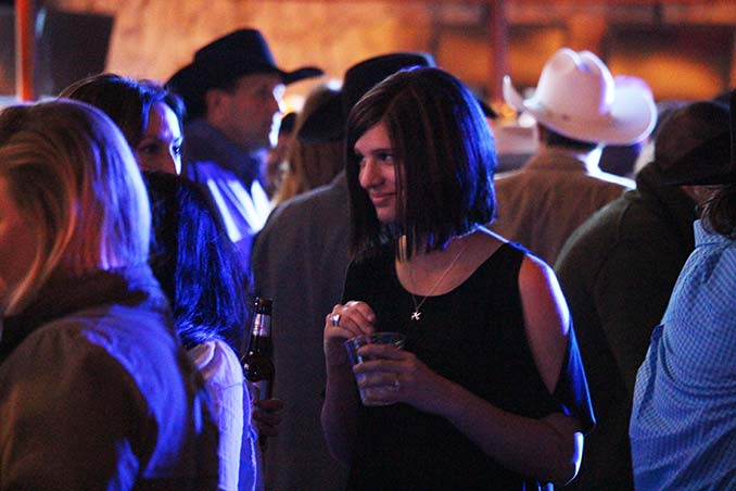 Audience watching the NFR Concerts at the Mirage