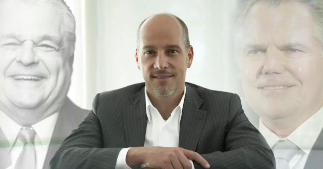 Andrew Pascal, Steve Sisolak and Jim Murren