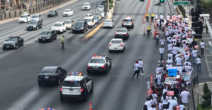 Culinary Union attempting to Shut down the Strip