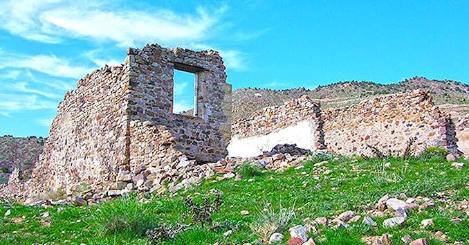 Delmar, Nevada Ruins