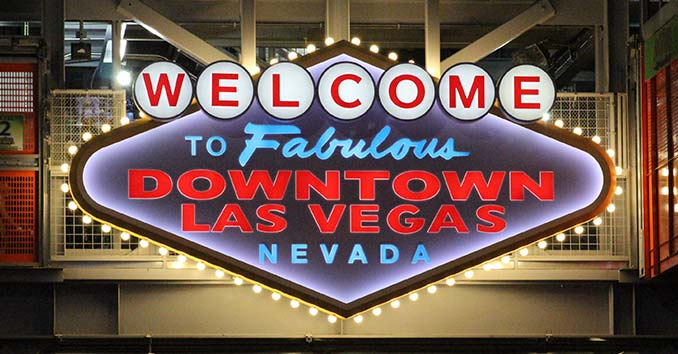 Downtown Lss Vegas Sign