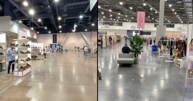 Empty Trade shows in Las Vegas