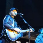 Eric Paslay at the NFR Vegas Rodeo Shows