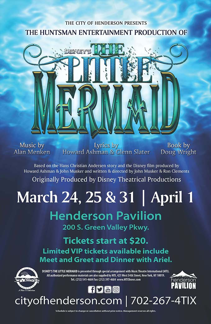 The Little Mermaid Event Flyer