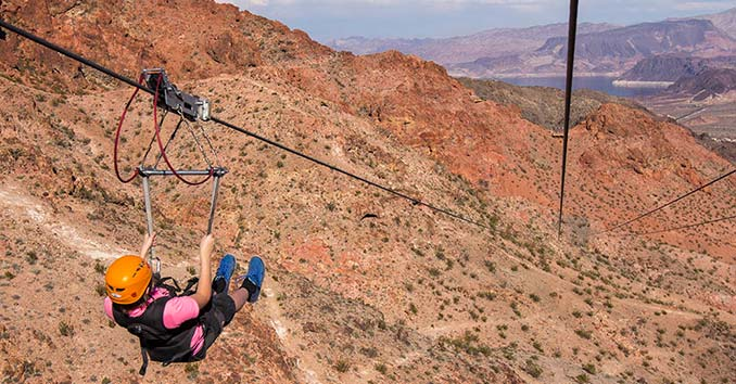 Flightline Bootleg Canyon Zipline