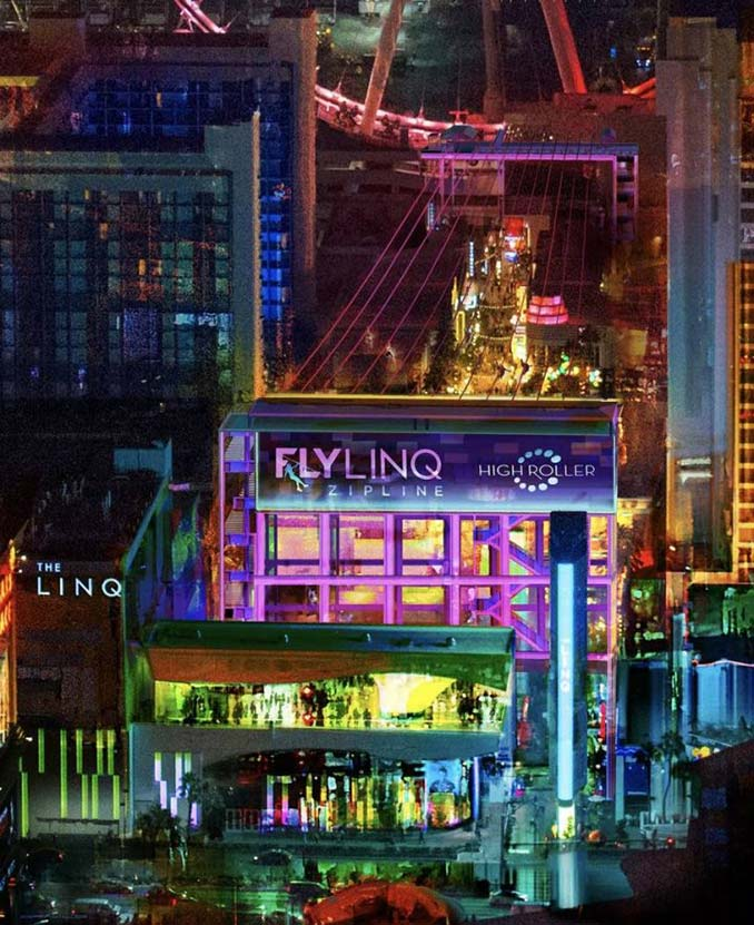 Fly LINQ View from the Strip