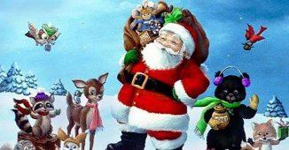 Santa at Gilcrease Nature Sanctuary