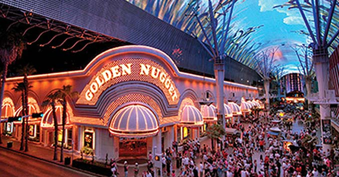 Golden Nugget on the Fremont Street Experince in Las Vegas