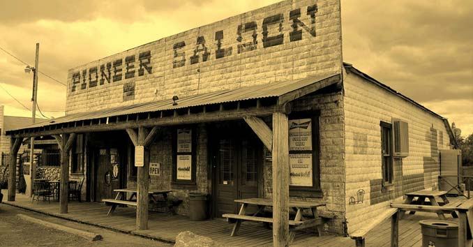 Pioneer Saloon in Good Springs, Nevada