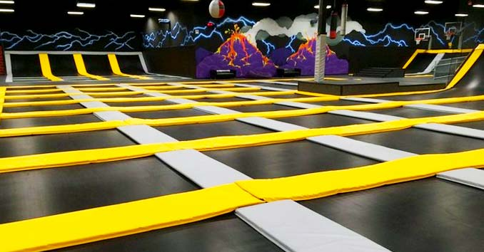 GRAVIDY Extreme Trampoline Park in Las Vegas