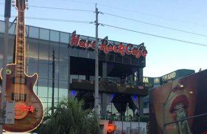 Hard Rock Cafe on the Las Vegas Strip