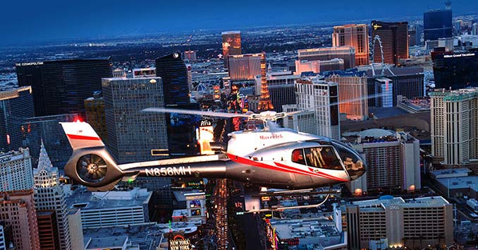 Helicopter Tour over Las Vegas