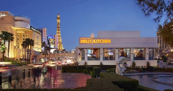 Hell's Kitchen in Las Vegas