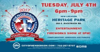 Henderson Fireworks Show