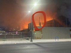 Vegas homeless fires
