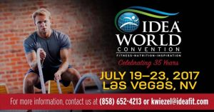 IDEA World Fitness Convention in Las Vegas