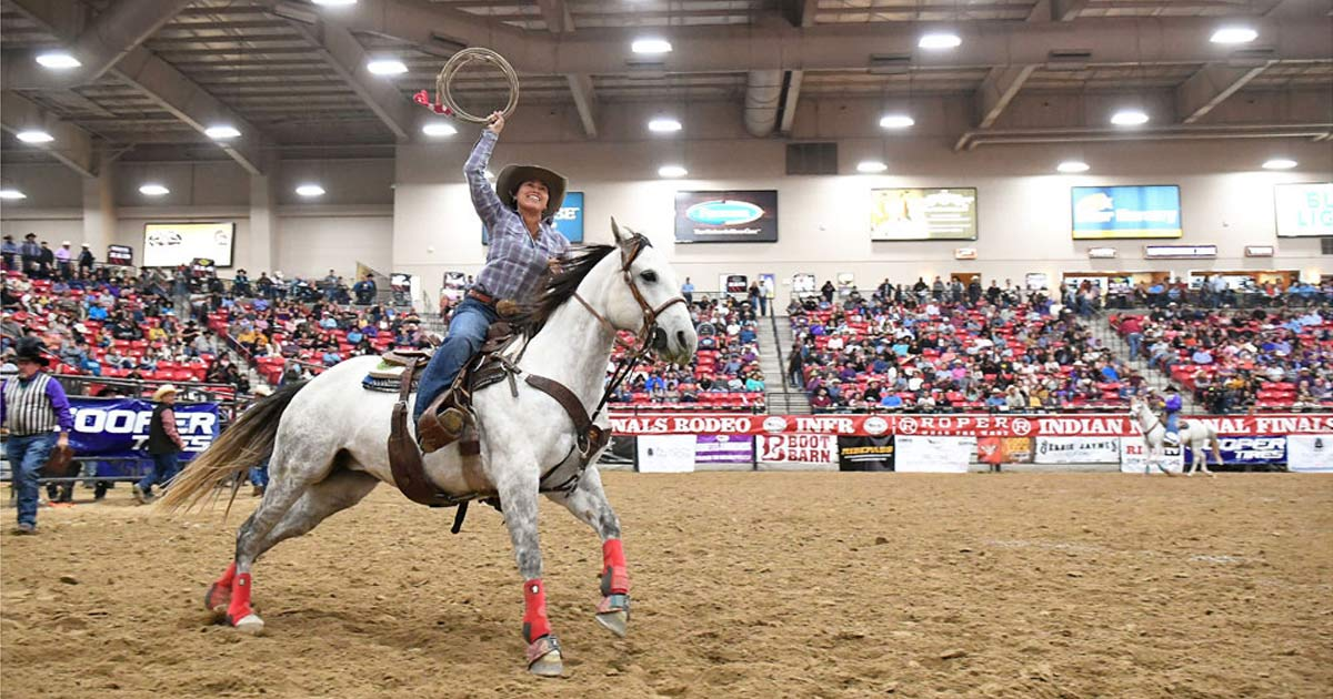 The Indian National Finals Rodeo