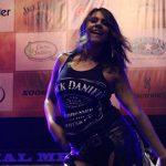 Jack Daniels Girl at NFR in Vegas