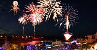Lake Las Vegas Fireworks