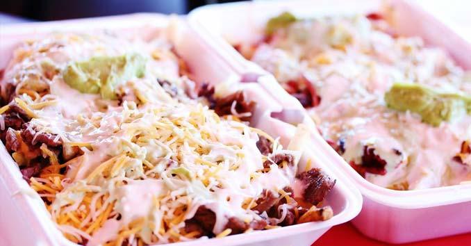 A Late Night Snack from Tacos El Gordo in Las Vegas