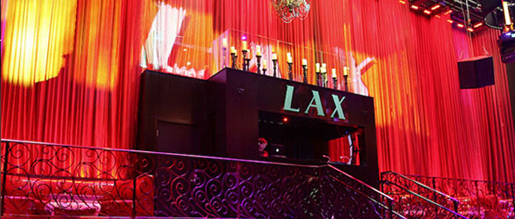 LAS Nightclub in the Luxor Las Vegas
