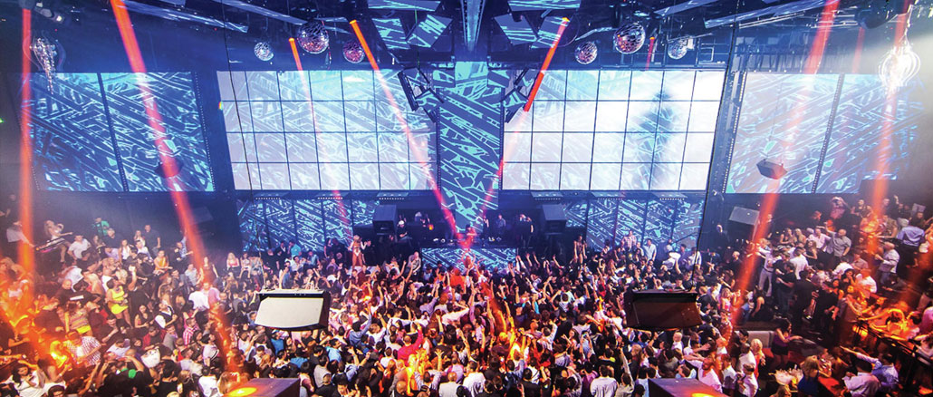 The Light Nightclub at Mandalay Bay in Las Vegas