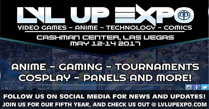 LVL Up Expo in Las Vegas
