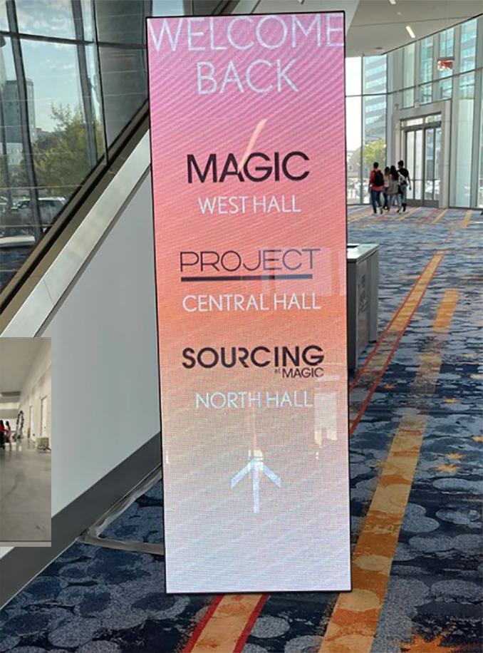 Empty Show floor at Magic Las Vegas