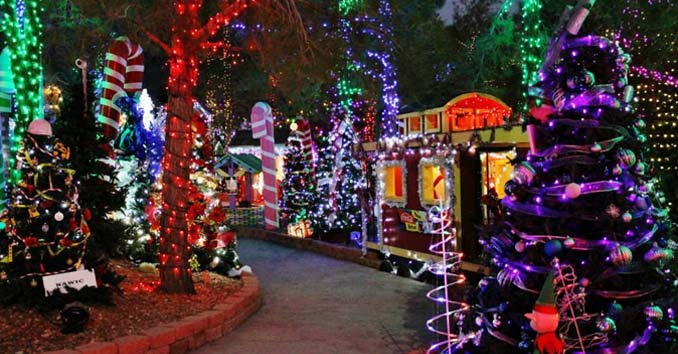 Las Vegas Christmas 2018 Christmas Lights Shows Events In Vegas